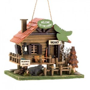 What's New at KHD – Woodland Cabin Birdhouse