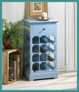 New at KHD – Somerset Blue Wine Cabinet