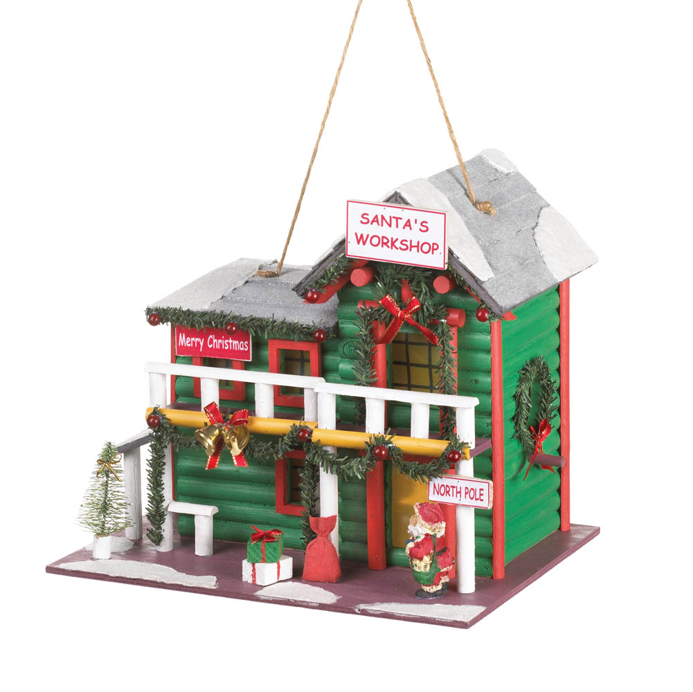 Wholesale Product Spotlight – Santa's Workshop Birdhouse