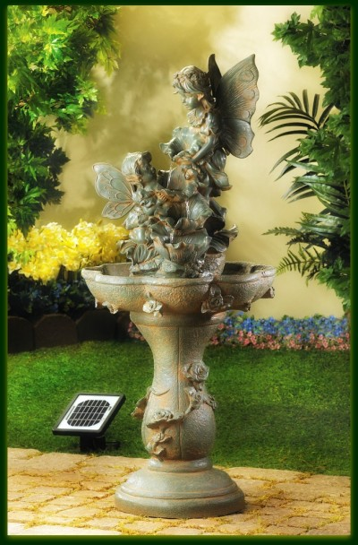 Wholesale Product Spotlight – Fairy Solar Water Fountain
