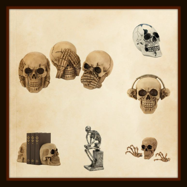 Wholesale product spotlight halloween skulls skull for Koehler home decor