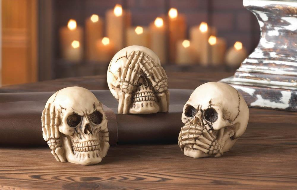 Wholesale Product Spotlight – Spooky Skull Halloween Decor