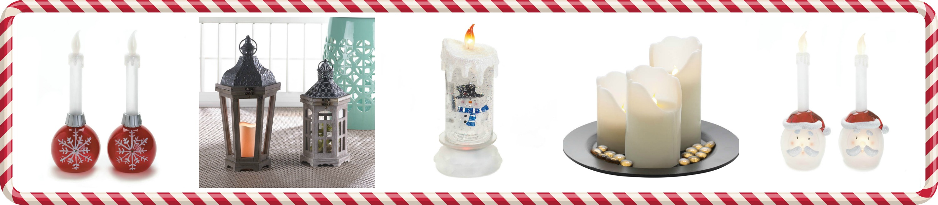 Wholesale product spotlight flameless christmas candle for Koehler home decor