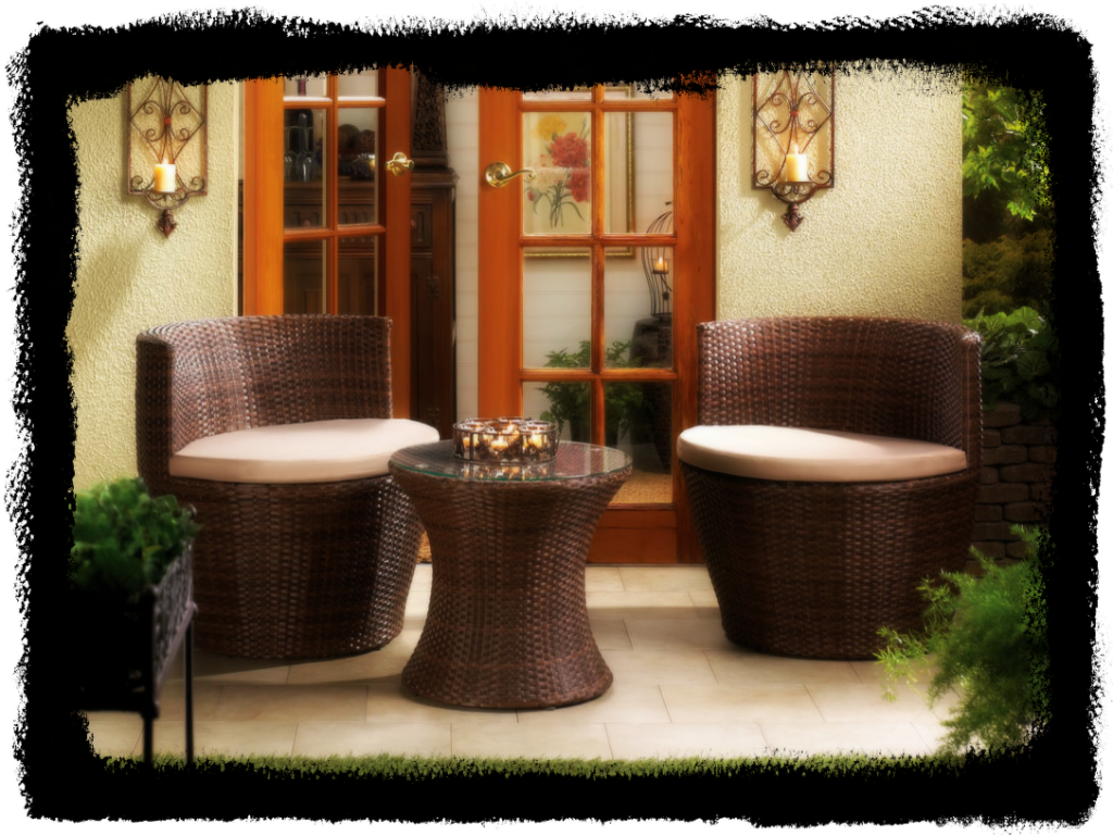 Wholesale Product Spotlight – Faux Rattan Patio Set