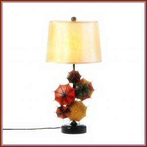 New at KHD – Colorful Umbrella Table Lamp