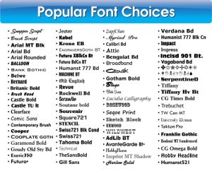popular-font-choices