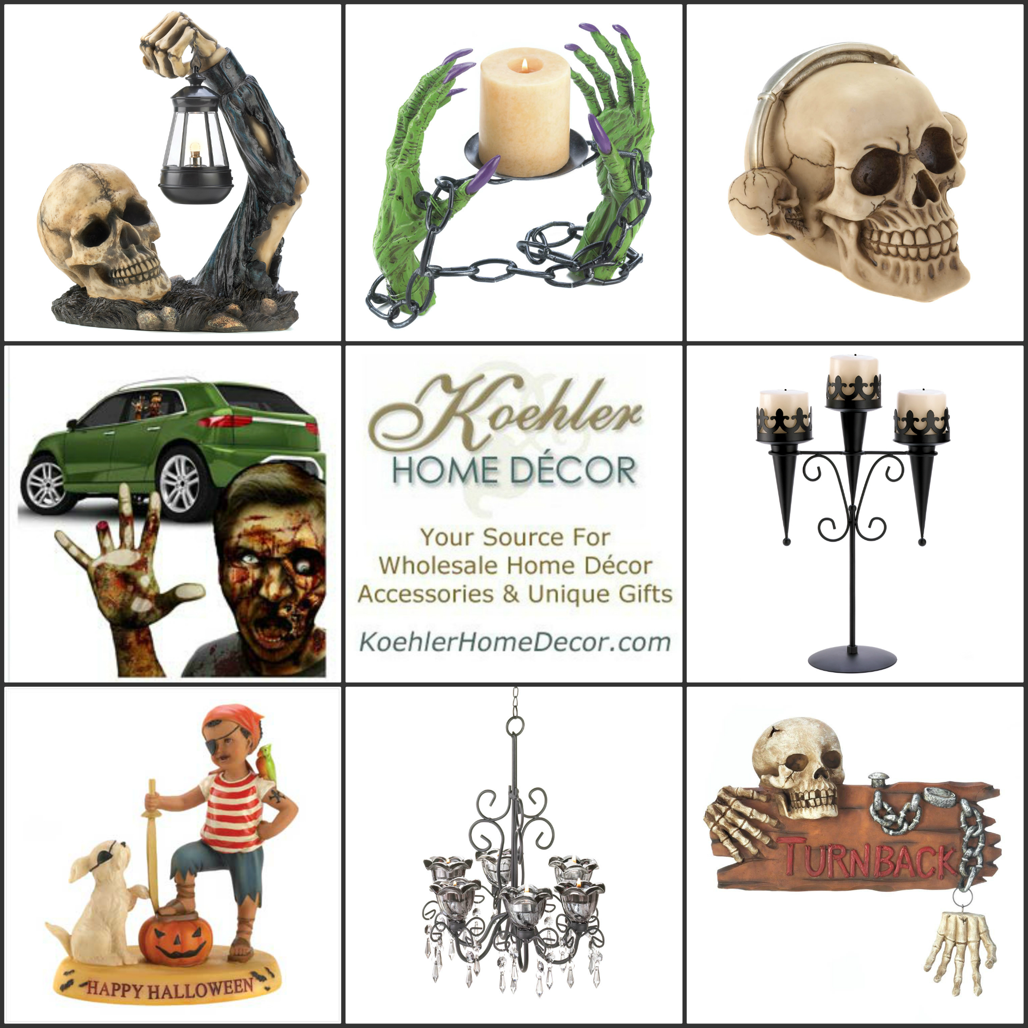 Wholesale Product Spotlight – Halloween at Koehler Home Decor