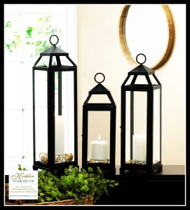 New at KHD – Lean and Sleek Candle Lanterns