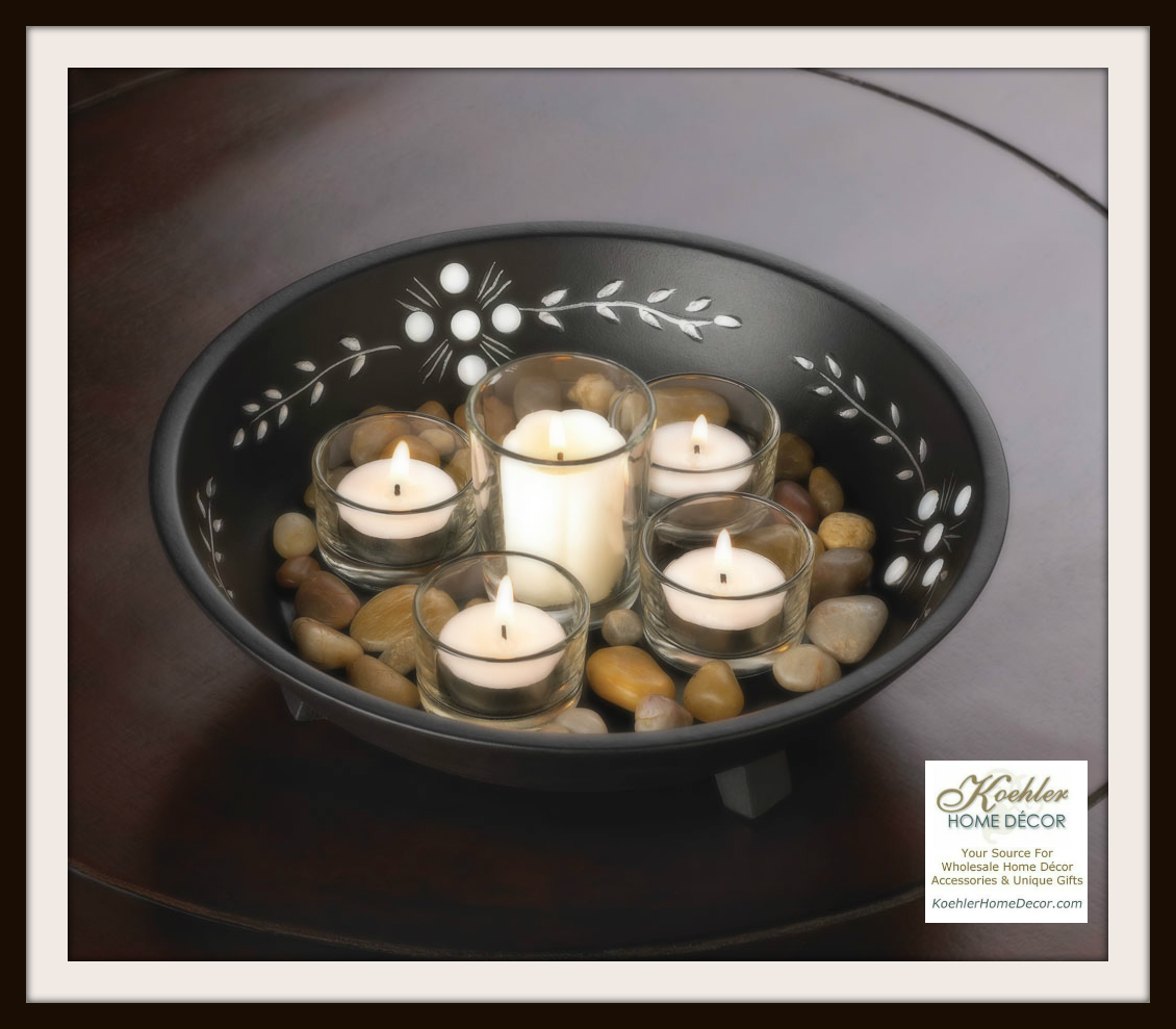 Wholesale Product Spotlight –  Decorative Candle Bowl Set
