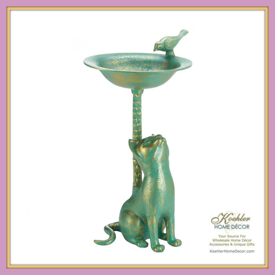New at KHD – Cat Bird Bath