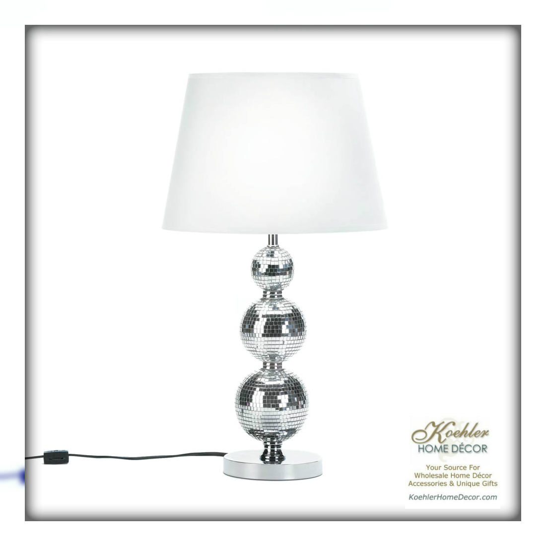 Wholesale Product Spotlight – Broadway Glitz Table Lamp