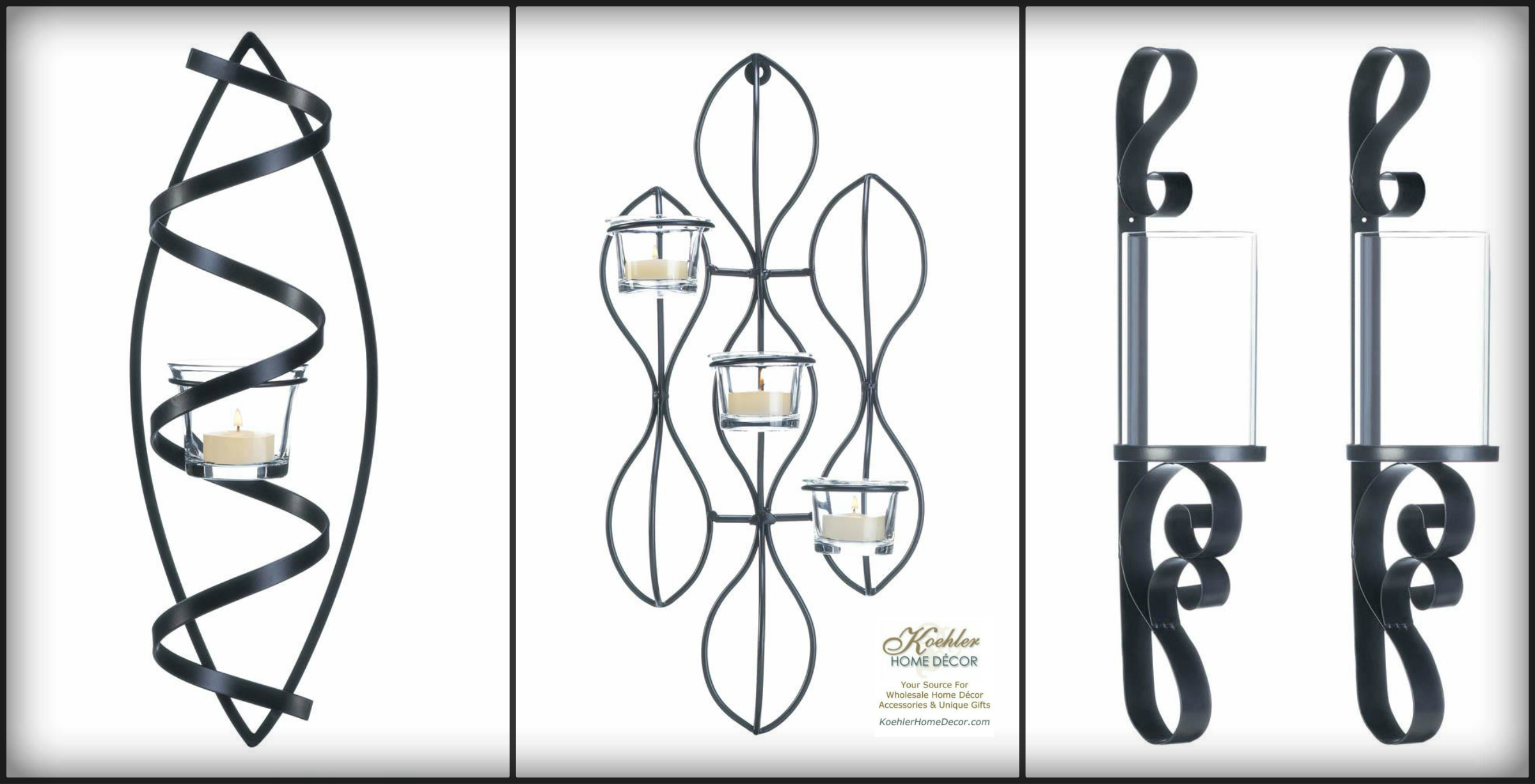 New at KHD – Elegant Wall Sconce Collection