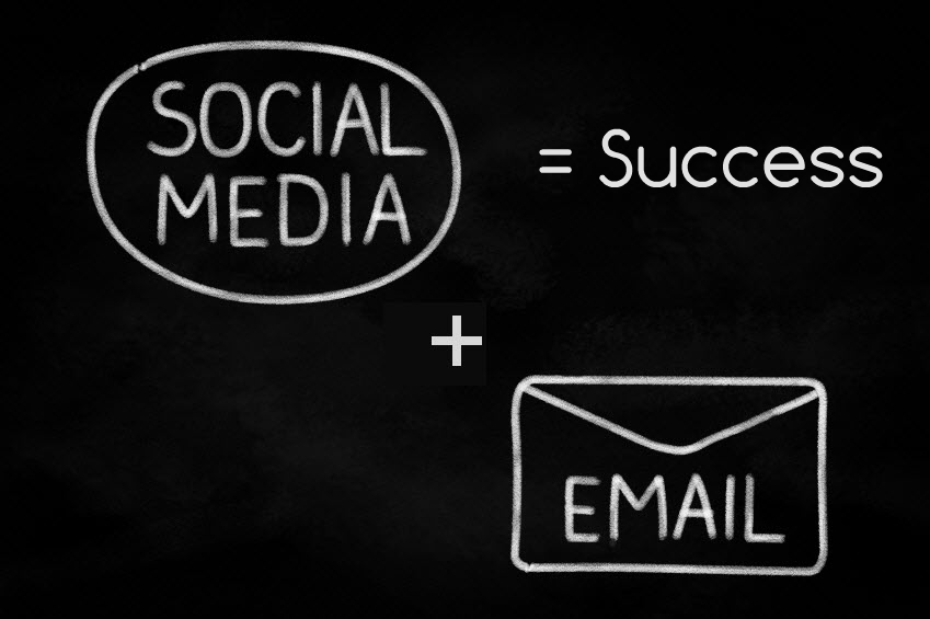 4 Ways Email Marketing and Social Media Marketing Can be Used Together to Boost Both