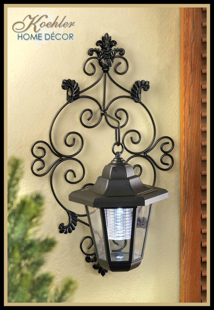 Wholesale Product Spotlight – Solar Garden Wall Lanterns