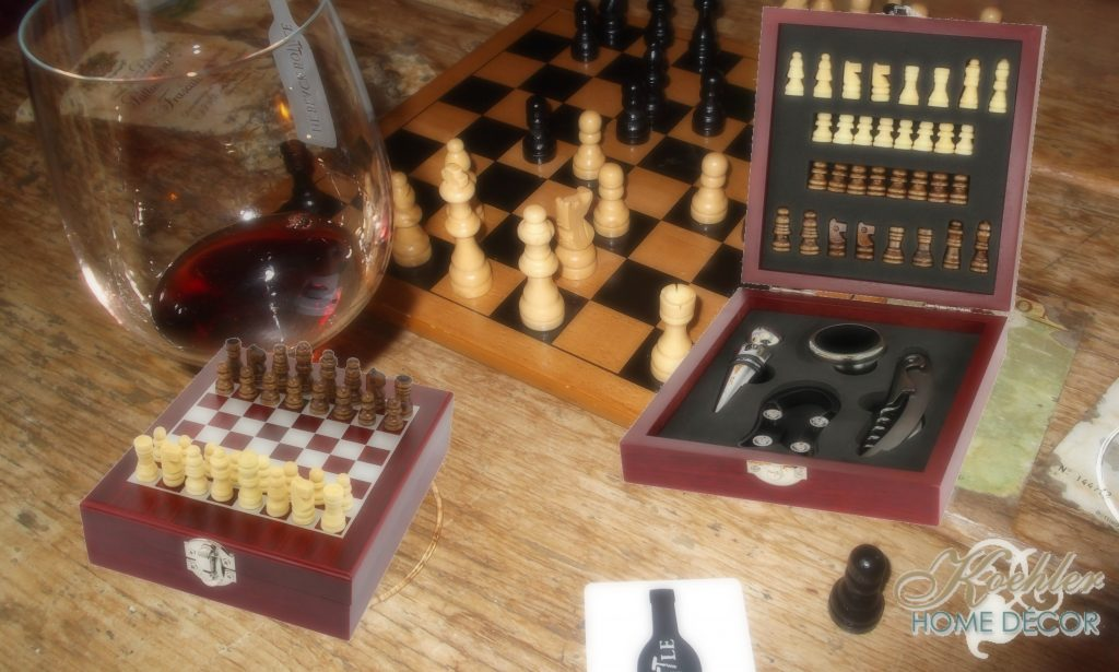 New at KHD – Wine Tool Chess Set