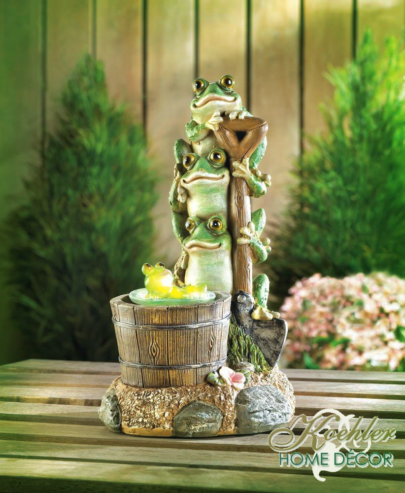 Wholesale Product Spotlight – Solar Rotating Frog Garden Decor