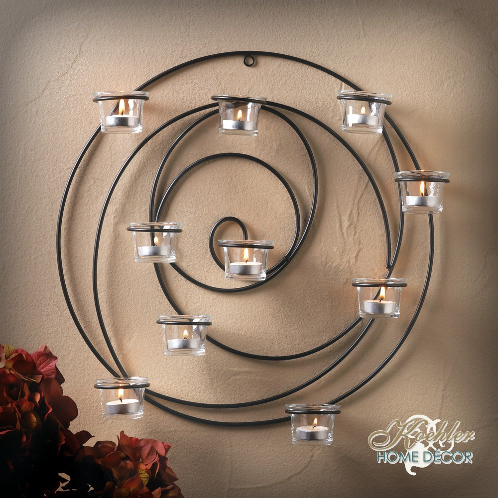 Wholesale Product Spotlight – Hypnotic Candle Wall Sconce