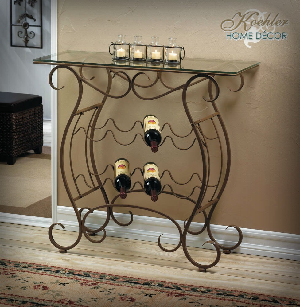 Wholesale Product Spotlight – Vineyard Wine Rack Table