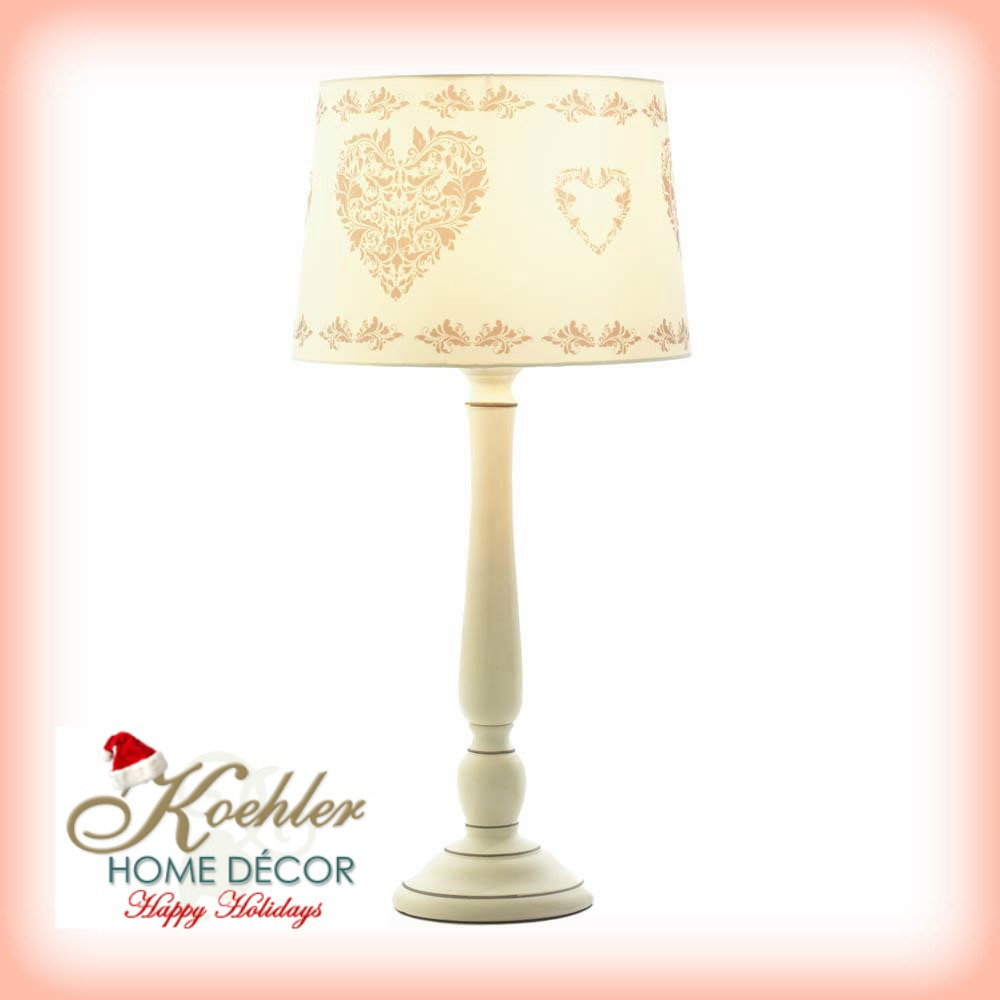 Wholesale Product Spotlight – Vintage Hearts Table Lamp
