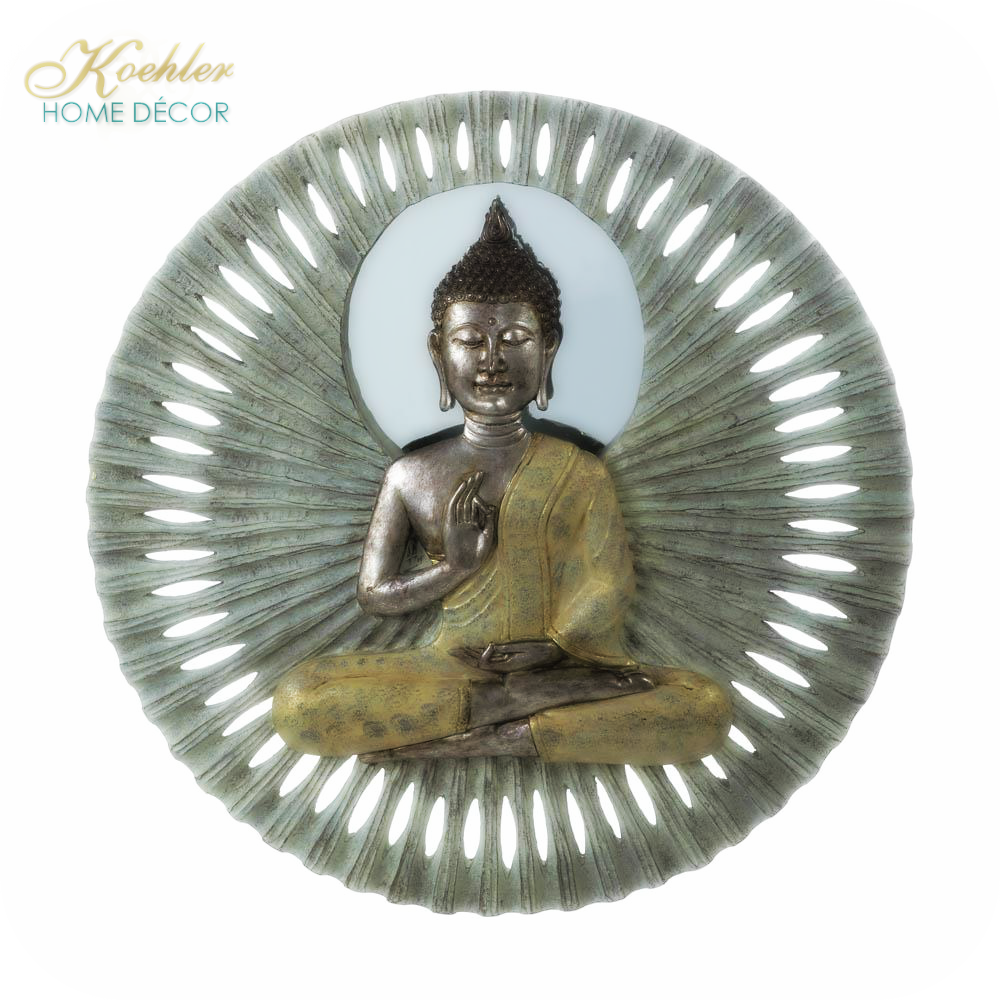 New at KHD – Buddha Circular Wall Decor