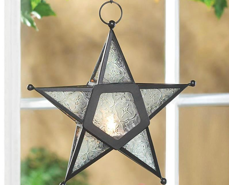 KHD – Wholesale Product Spotlight – Clear Glass Star Lantern