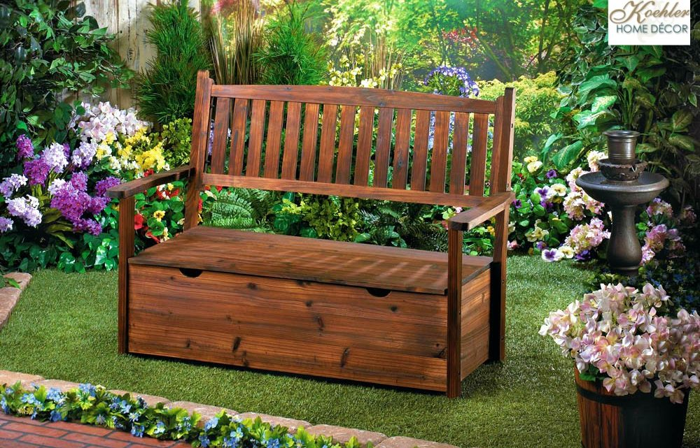 Wholesale Product Spotlight – Garden Grove Storage Bench