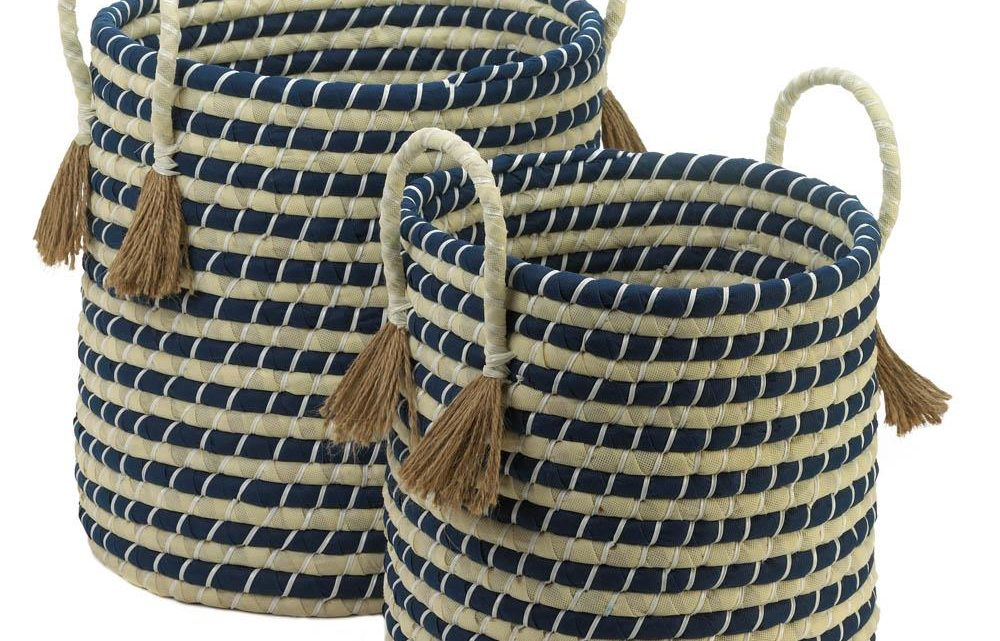 New at KHD – Braided Baskets with Tassels
