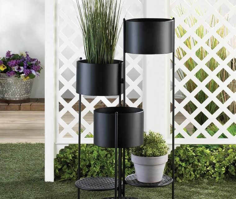 New at KHD – 3 Tier Barrel Bucket Planter