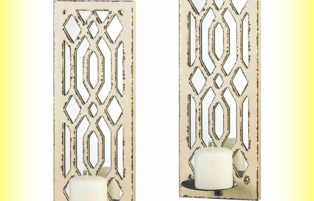 Wholesale Product Spotlight – Deco Mirror Wall Sconce Set