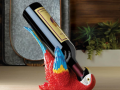 New at KHD – Colorful Parrot Wine Holder
