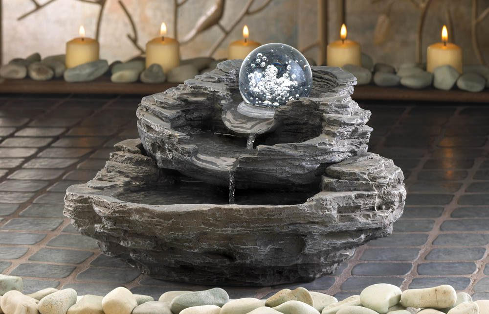 Wholesale Product Spotlight – Rock Design Desk Fountain