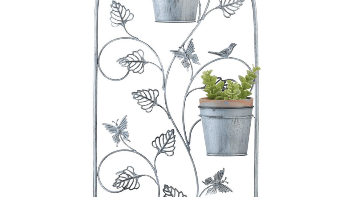 New at KHD – Butterfly Trellis Flower Pots