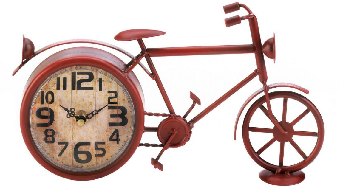 New at KHD – Vintage Red Bike Desk Clock