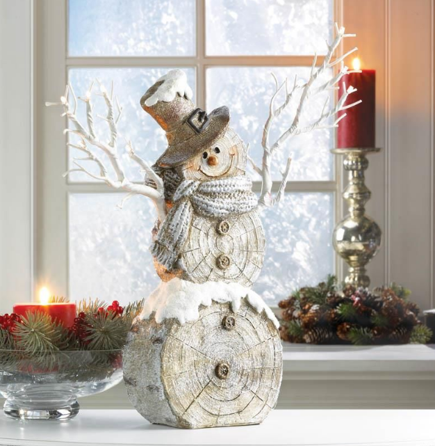 Wholesale Product Spotlight – Twig Lights Snowman Statue