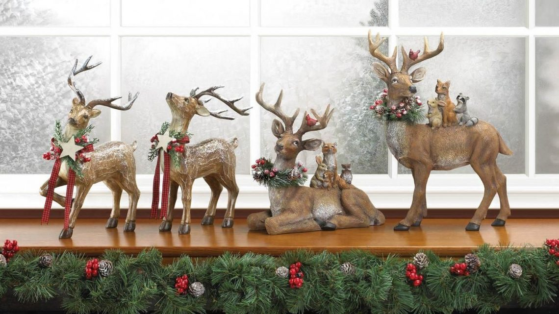 New at KHD – Woodland Reindeer Family Decor