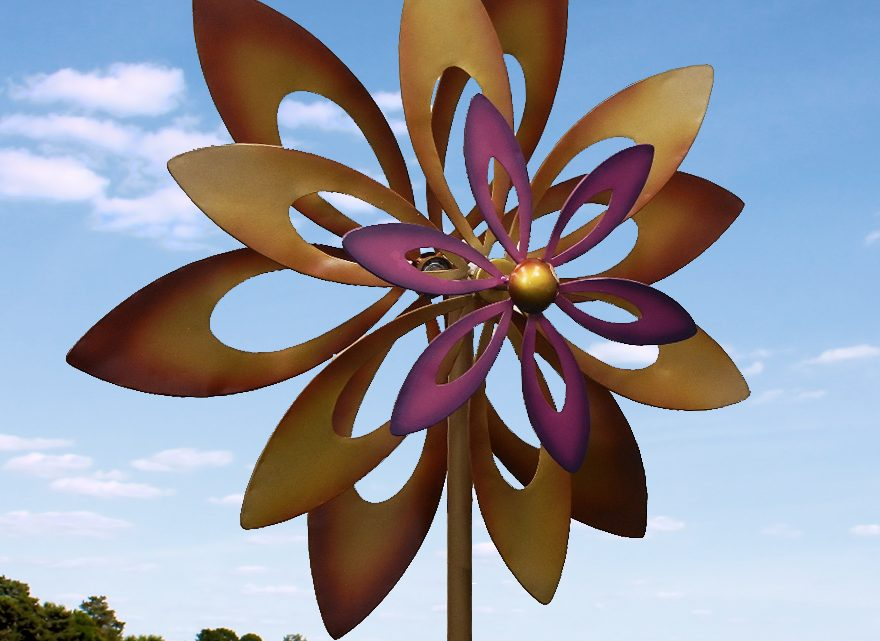 Wholesale Product Spotlight: Dancing Sunflower Garden Windmill Garden Spinner