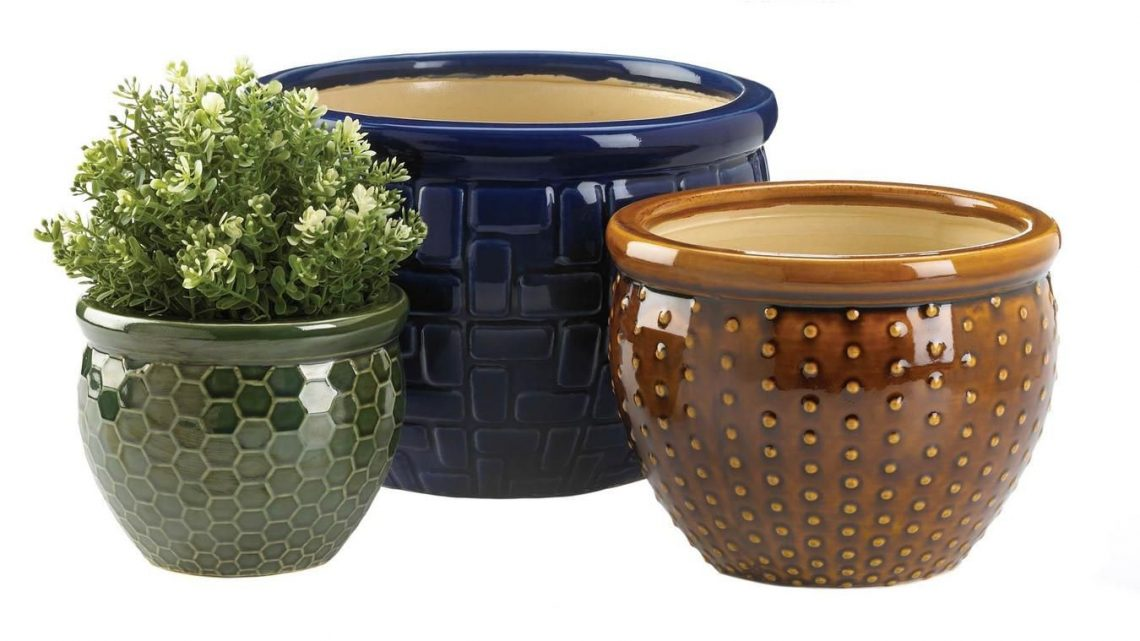 New at KHD – Designer Ceramic Plant Pots