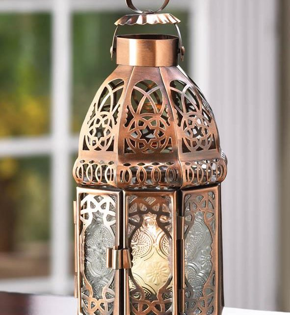 Wholesale Product Spotlight – Copper Moroccan Candle Lamp