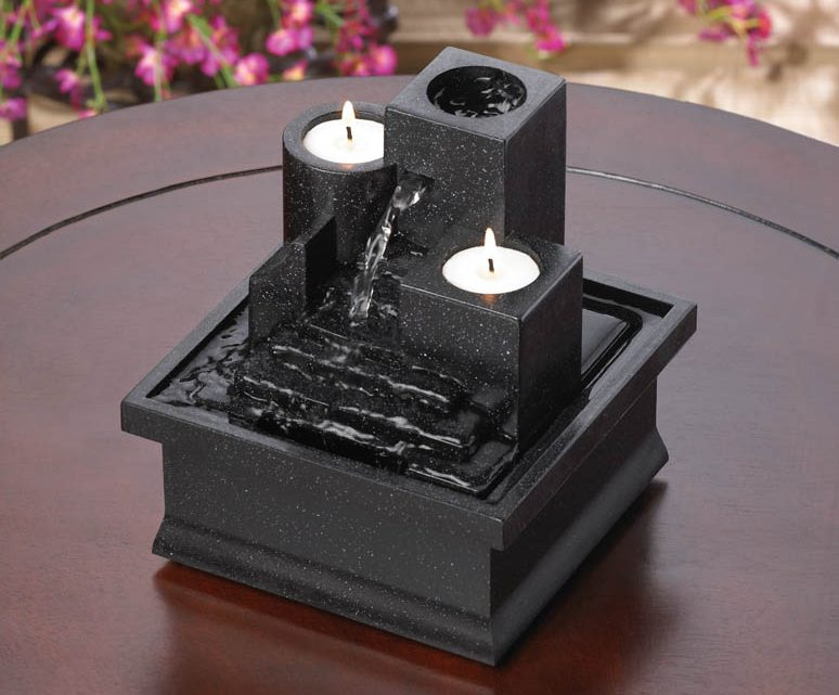Wholesale Product Spotlight – Temple Steps Tabletop Fountain