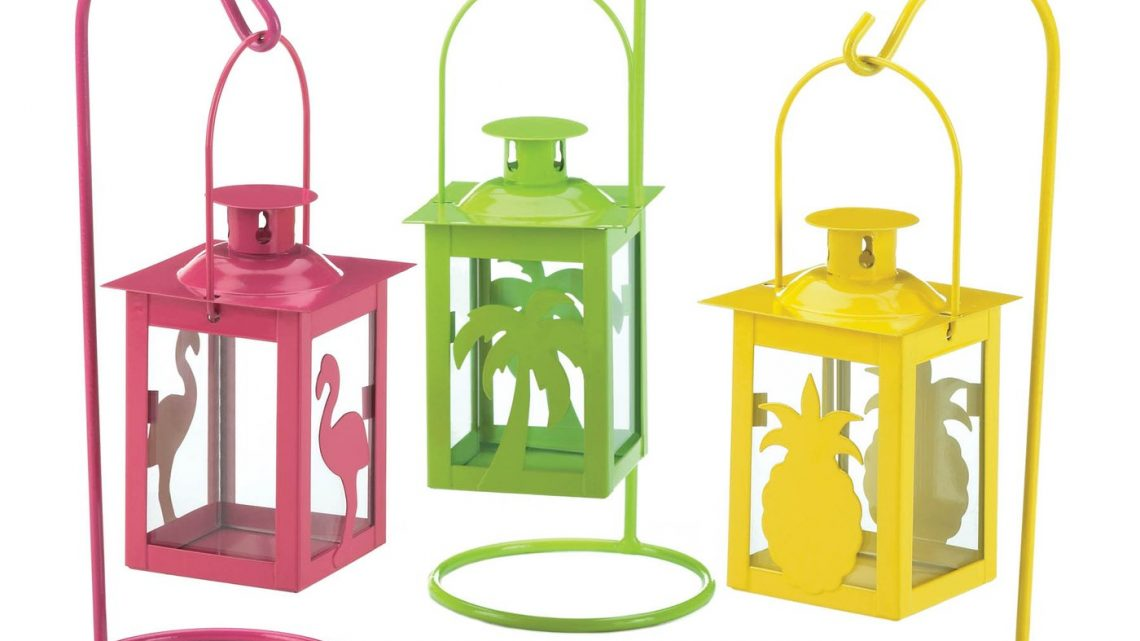 New at KHD – Tropical Mini Lanterns Set