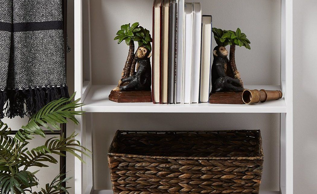 New at KHD – Monkey Bookends