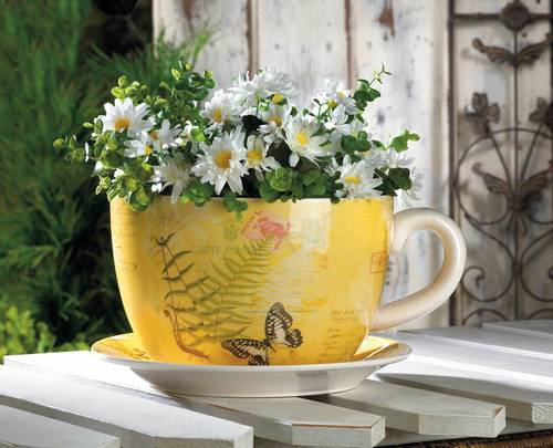 Wholesale Product Spotlight – Garden Butterfly Teacup Planter