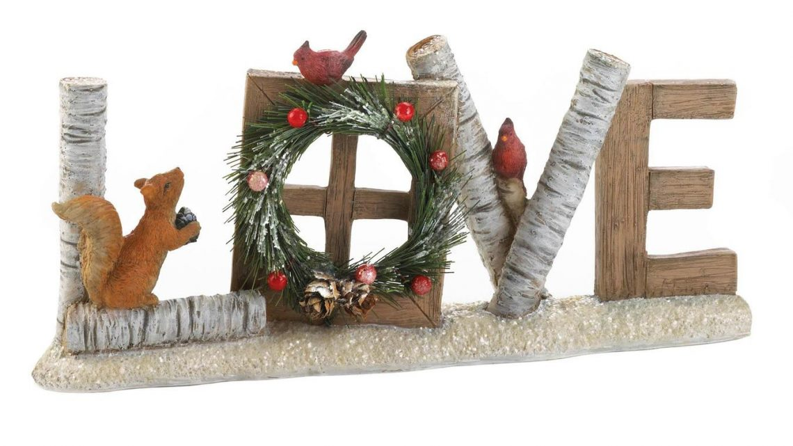 Wholesale Product Spotlight – Love Christmas Decorative Sign