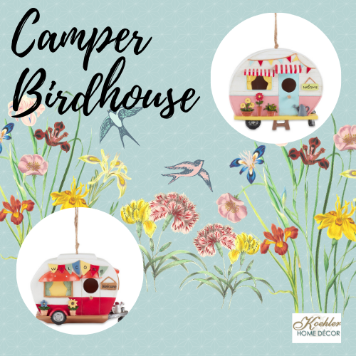 New at KHD – Camper Birdhouse