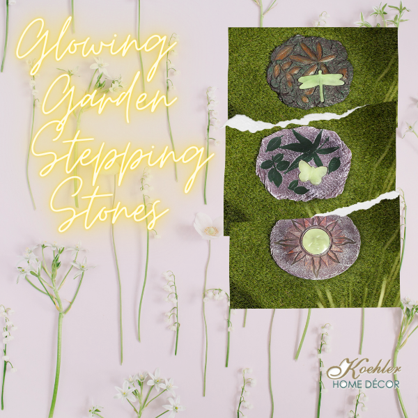 New at KHD – Glowing Stepping Stones